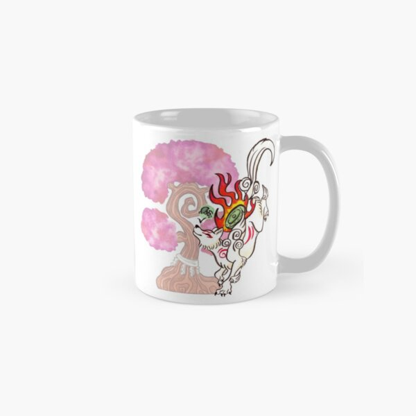 Okami Amaterasu sakura Classic Mug