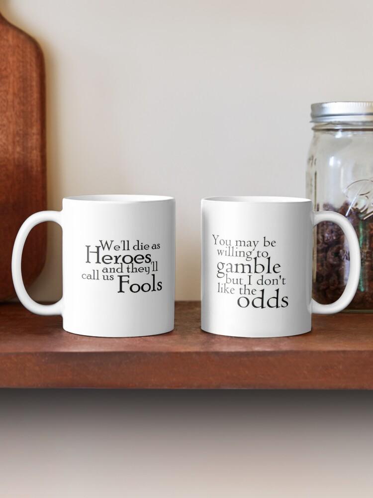 Alternate view of Heroes and Odds Mug
