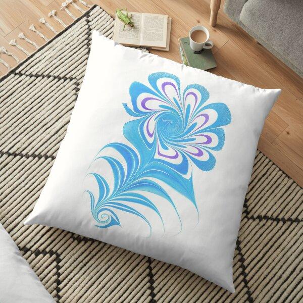 """""""Water Flower"""" Floor Pillow"""