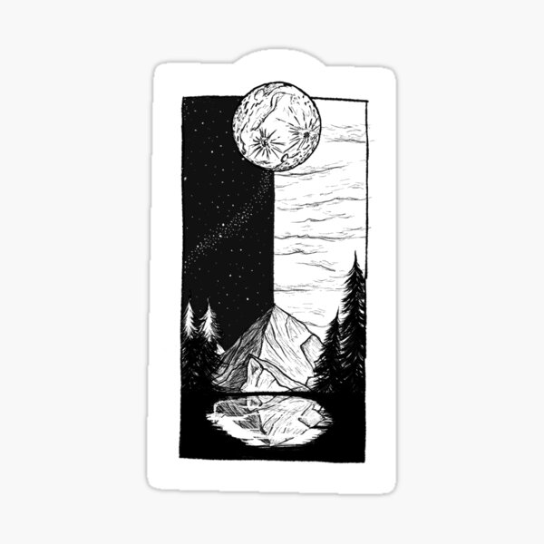 Into the North Woods Sticker