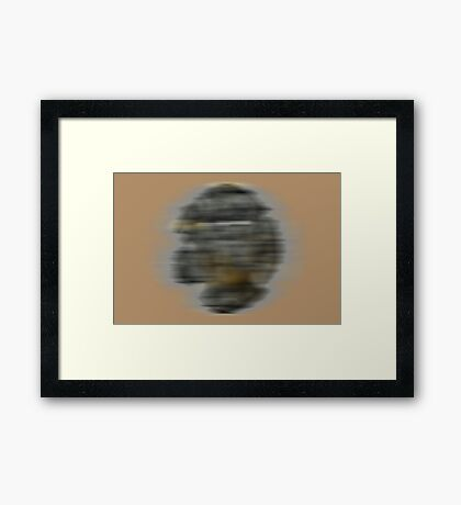 Ghost From the Past Framed Print