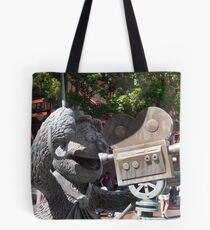 Fozzy Bear Statue Tote Bag