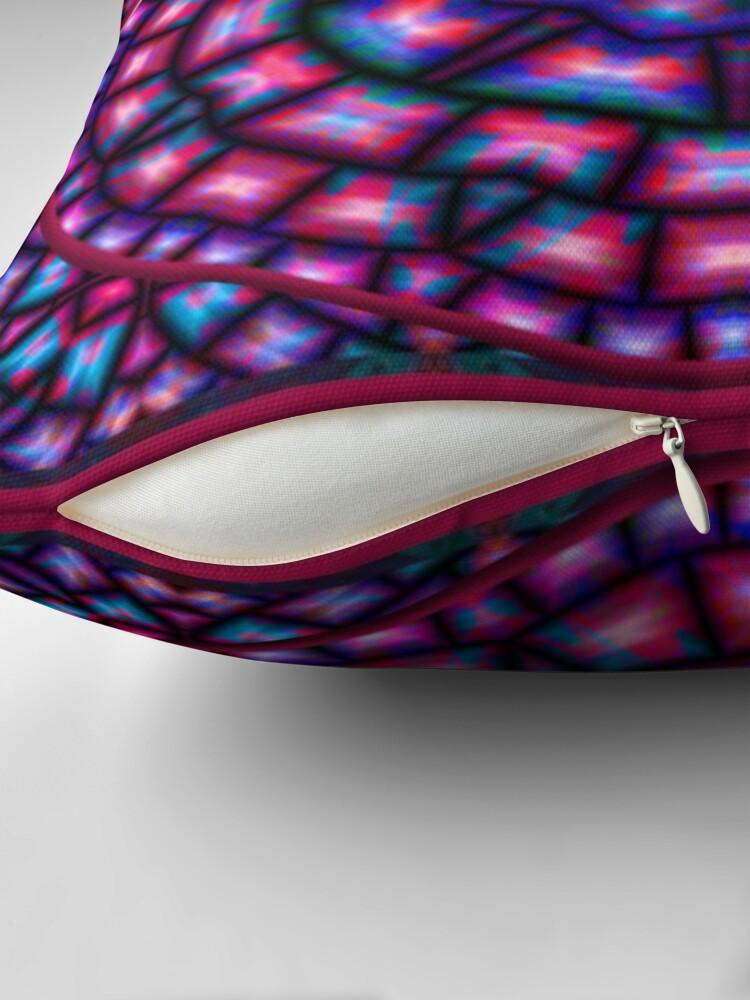 Alternate view of Krazy Kaleidoscope 1006 Throw Pillow