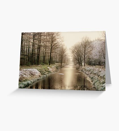 First Winter Signs Greeting Card