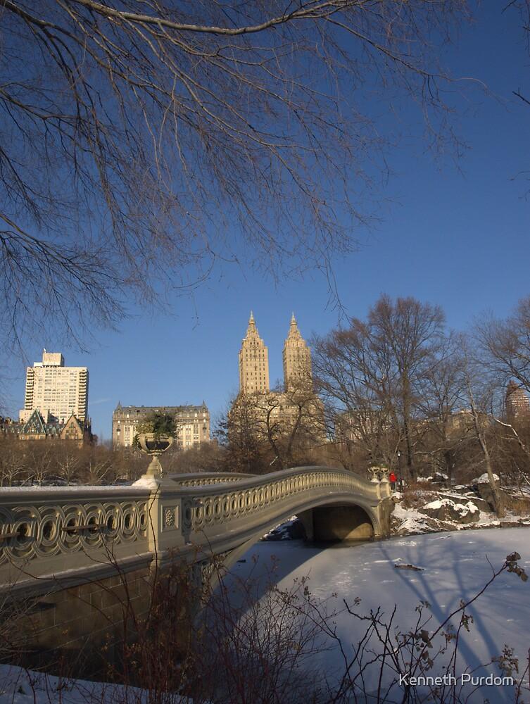 Bow Bridge, New York by Kenneth Purdom