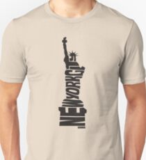 New York City: Statue of Liberty Black Unisex T-Shirt