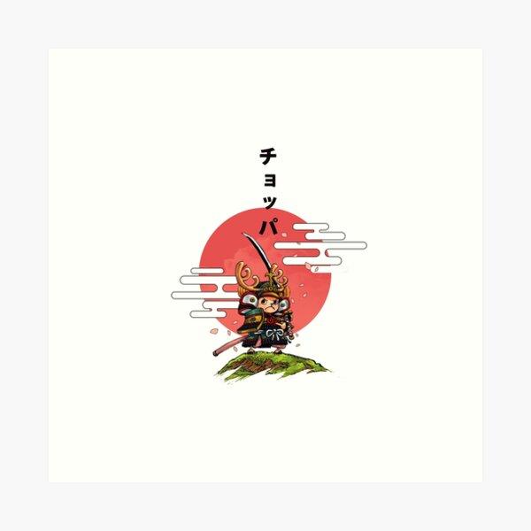 CHOPPER SAMURAI Impression artistique