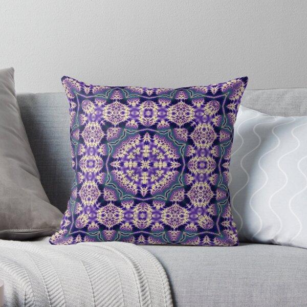 Krazy Kaleidoscope 1023 Throw Pillow