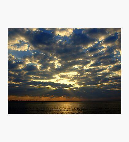 Morning FL Sky Photographic Print