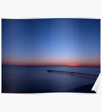 Beach FL Sun Set Poster