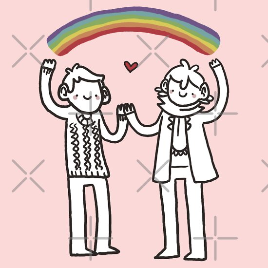 TShirtGifter presents: Sherlock and John: Rainbows