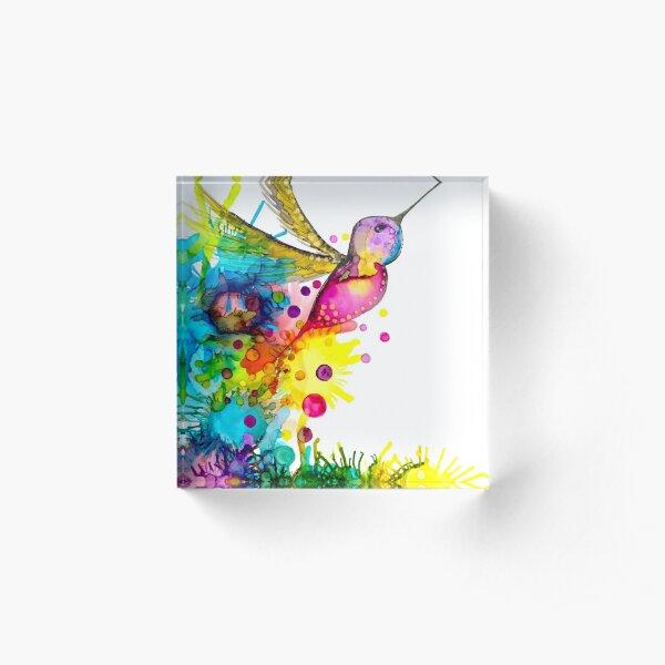 The Nectar Fairy Acrylic Block