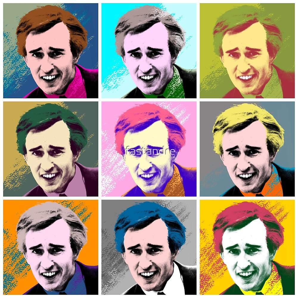 Alan Partridge Warhol Inspired Pop Art 3x3 by fastandre