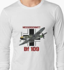 Bf 109 Fighter  Long Sleeve T-Shirt