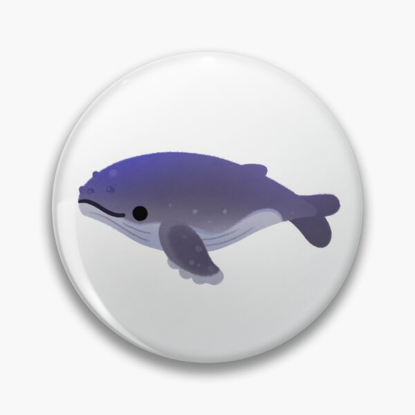 Whale Day - bright Pin