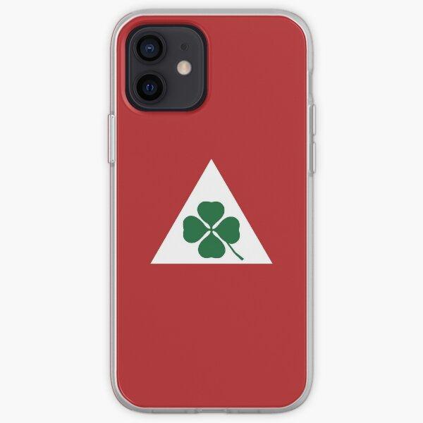 Quadrifoglio Classique Alfa Romeo Coque souple iPhone