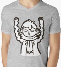 Doodlelock: Wiggly Arms Mens V-Neck T-Shirt