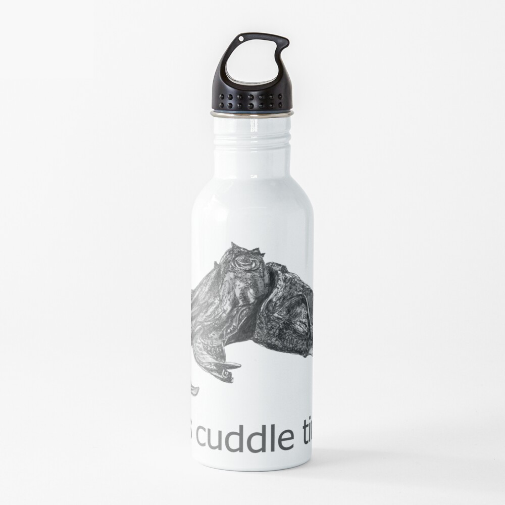 Cuddle time with Clive the Cuttlefish Water Bottle