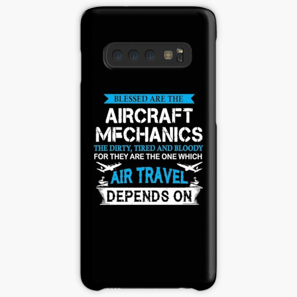 Airline Engine Mechanic Gift Samsung Galaxy Snap Case