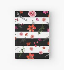 Watercolor Floral Pattern Hardcover Journal
