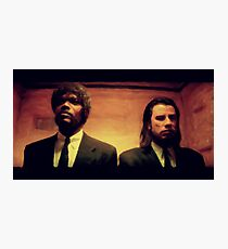 Vinny and Jules (Pulp Fiction) Photographic Print
