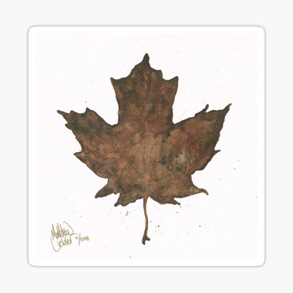 Gold Leaf Sticker