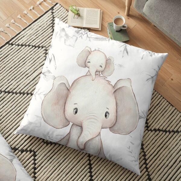 Africa elephant kids pillow nursery decoration Floor Pillow