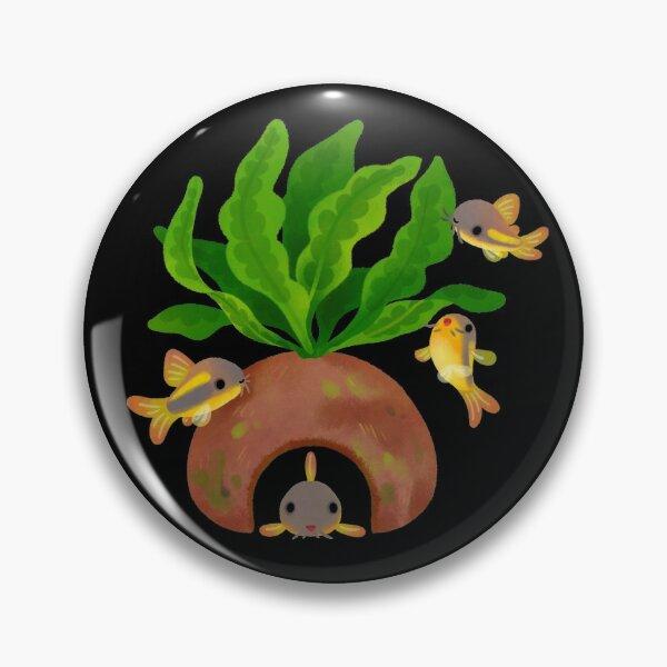 Fresh water fish and plants - Corydoras gold laser Pin
