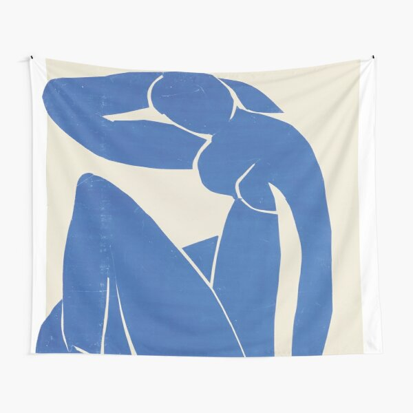 Blue Nude by Henri Matisse Tapestry