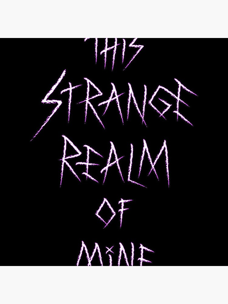 This Strange Realm Of Mine - Logo by Doomgriever