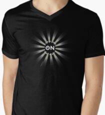 Turn me on (A) Men's V-Neck T-Shirt