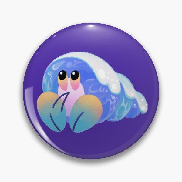 Coquilles de vagues océaniques Badge