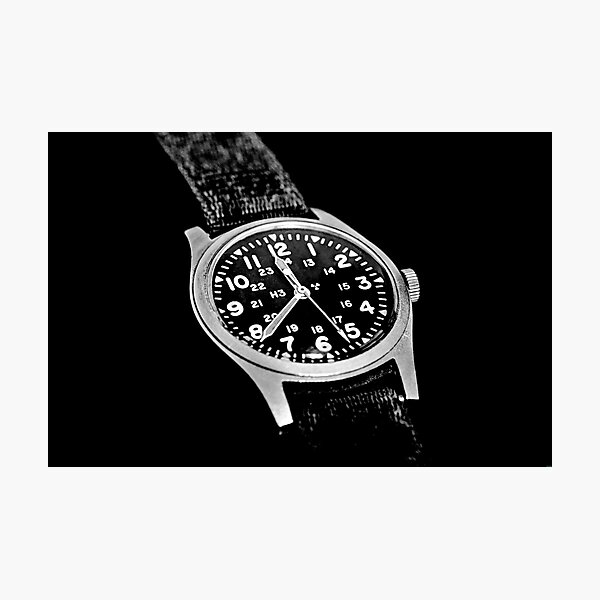 Military Time Photographic Print