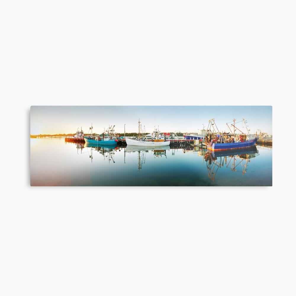 Lakes Entrance Boats, Gippsland, Victoria, Australia Metal Print