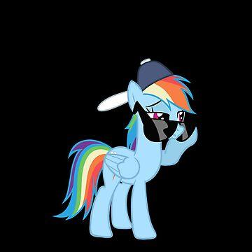 Rainbow Dash Style no text by Kuzcorish