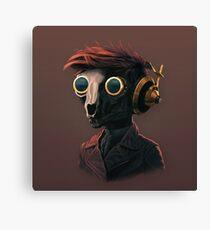 Techpunk Canvas Print