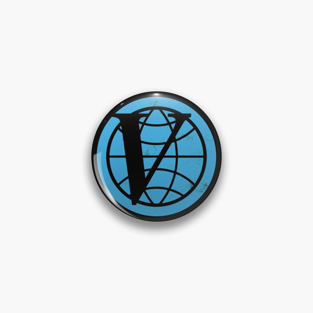Venture Industries logo — The Venture Bros.  Pin