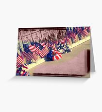 Beauty of Our Flag Greeting Card