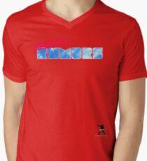 Electronic Rumors: V3.0 Mens V-Neck T-Shirt
