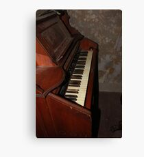 Haunted Keyboard Canvas Print