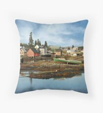 The Farley Inlet, Stonehurst Throw Pillow