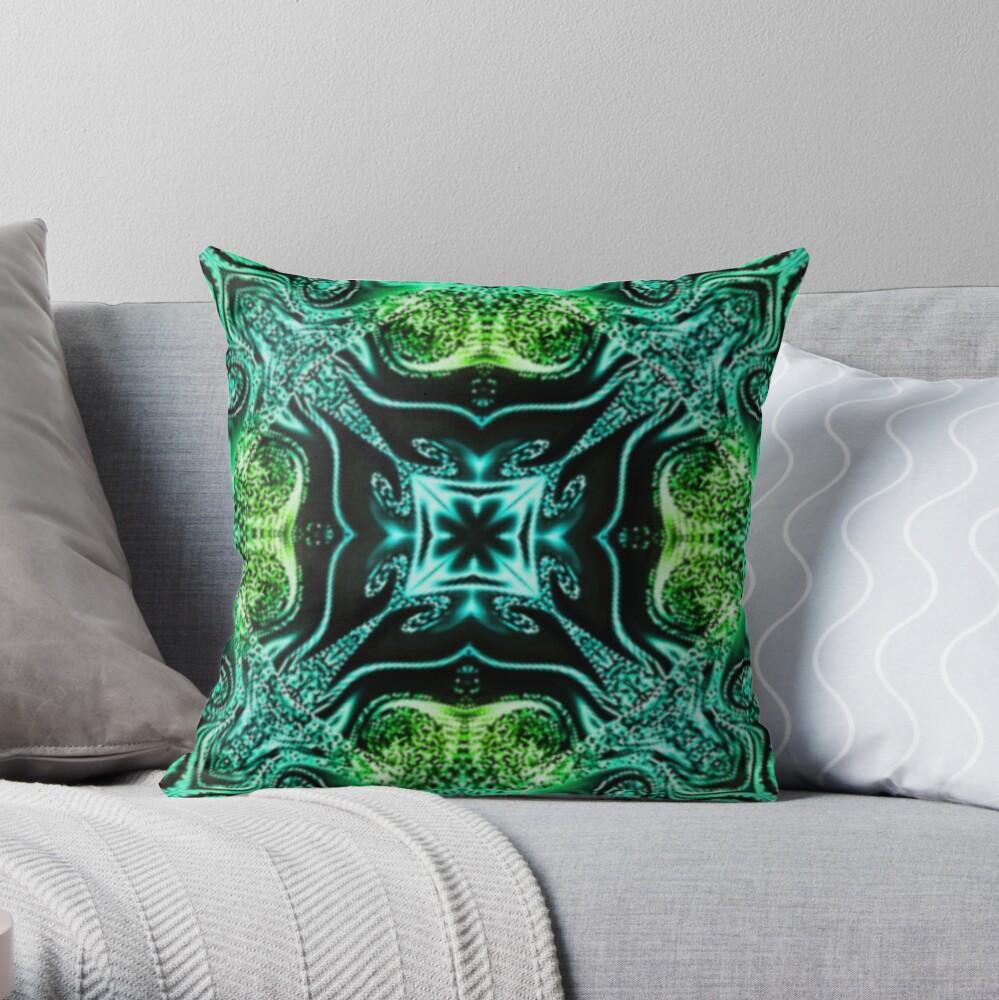 Kaleidoscope Kreation 1015 Throw Pillow