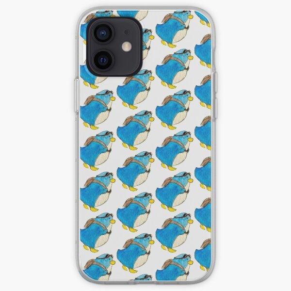 Little Blue Penguin iPhone Soft Case