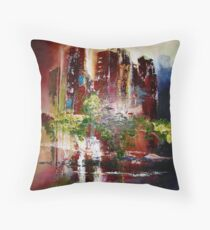 Rising Point of View Throw Pillow
