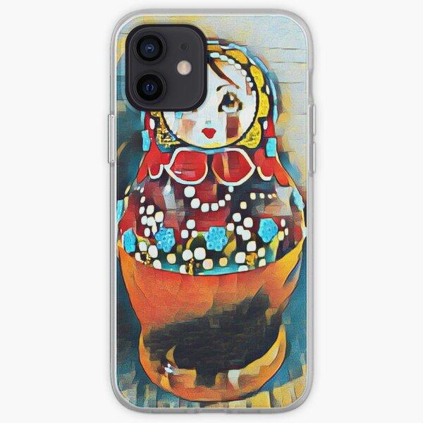 Babushka/Matryoshka doll iPhone Soft Case