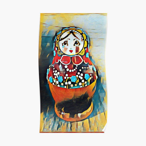 Babushka/Matryoshka doll Poster