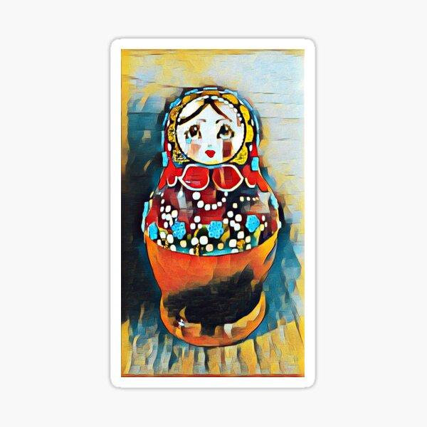Babushka/Matryoshka doll Sticker