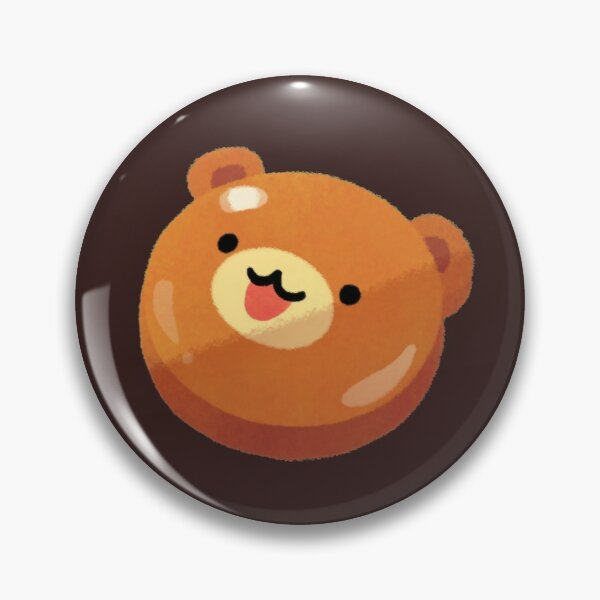 Salted caramel bear Pin