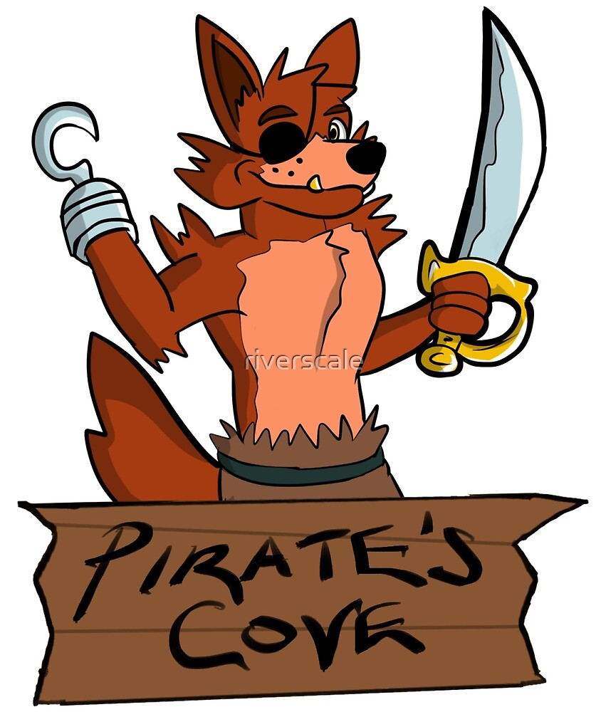 """Five Nights at Freddy's - """"Pirate's Cove"""" by riverscale"""