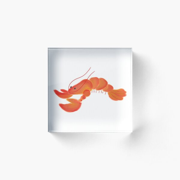 LOBSTER Acrylic Block